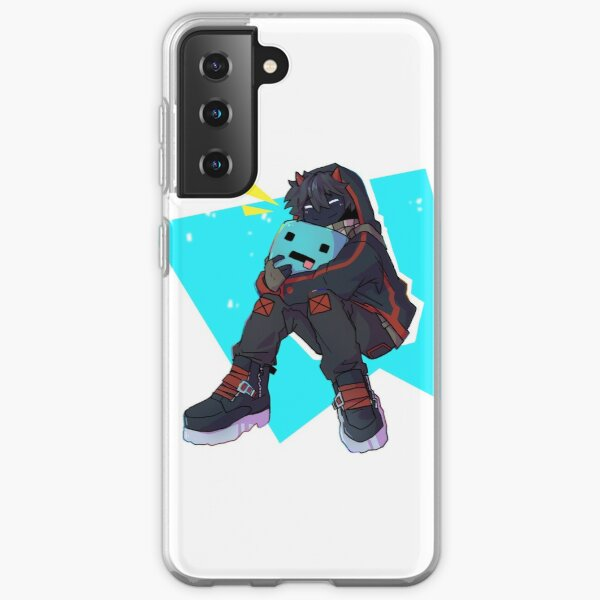 Badboyhalo and skeppy stuffie Samsung Galaxy Soft Case RB0206 product Offical Technoblade Merch