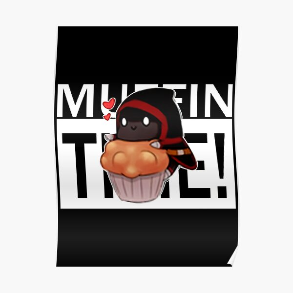 Badboyhalo Merch Badboyhalo Muffin Time Gifts For Fans, For Men and Women, Gift Christmas Day Poster RB0206 product Offical Technoblade Merch