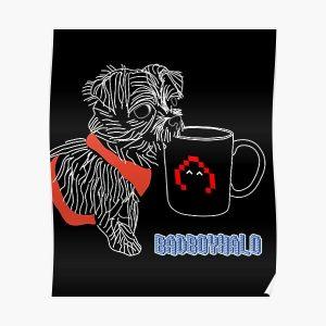 BadBoyHalo dog Poster RB0206 product Offical Technoblade Merch