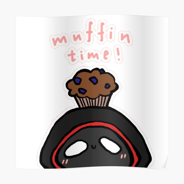BadBoyHalo muffin time merch Poster RB0206 product Offical Technoblade Merch