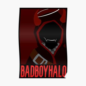 BadBoyHalo Poster Poster RB0206 product Offical Technoblade Merch