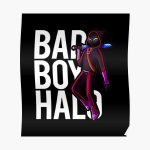 Badboyhalo Merch Badboyhalo Bad Boy Halo Character Poster RB0206 product Offical Technoblade Merch