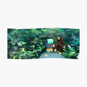 Skeppy and BadBoyHalo at the Pond Poster RB0206 product Offical Technoblade Merch