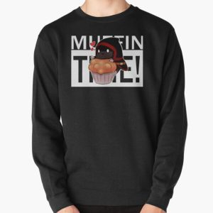 Badboyhalo Merch Badboyhalo Muffin Time Gifts For Fans, For Men and Women, Gift Christmas Day Pullover Sweatshirt RB0206 product Offical Technoblade Merch