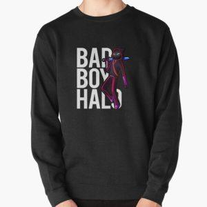 Badboyhalo Merch Badboyhalo Bad Boy Halo Character Pullover Sweatshirt RB0206 product Offical Technoblade Merch