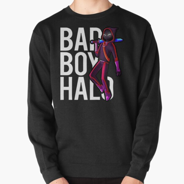 Badboyhalo Merch Badboyhalo Bad Boy Halo Character Gifts For Fans, For Men and Women, Gift Christmas Pullover Sweatshirt RB0206 product Offical Technoblade Merch