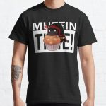 Badboyhalo Merch Badboyhalo Muffin Time Gifts For Fans, For Men and Women, Gift Christmas Day Classic T-Shirt RB0206 product Offical Technoblade Merch