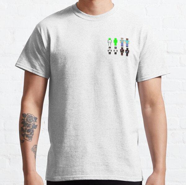 Dream George Sapnap BadBoyHalo Skin Bundle Classic T-Shirt RB0206 product Offical Technoblade Merch