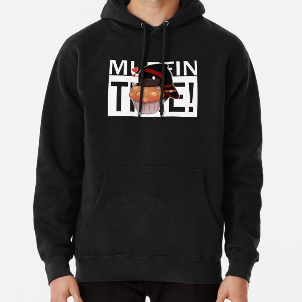 Badboyhalo Merch Badboyhalo Muffin Time Gifts For Fans, For Men and Women, Gift Christmas Day Pullover Hoodie RB0206 product Offical Technoblade Merch