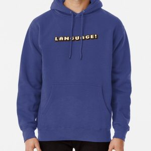 """""""Language!""""-BadBoyHalo Pullover Hoodie RB0206 product Offical Technoblade Merch"""