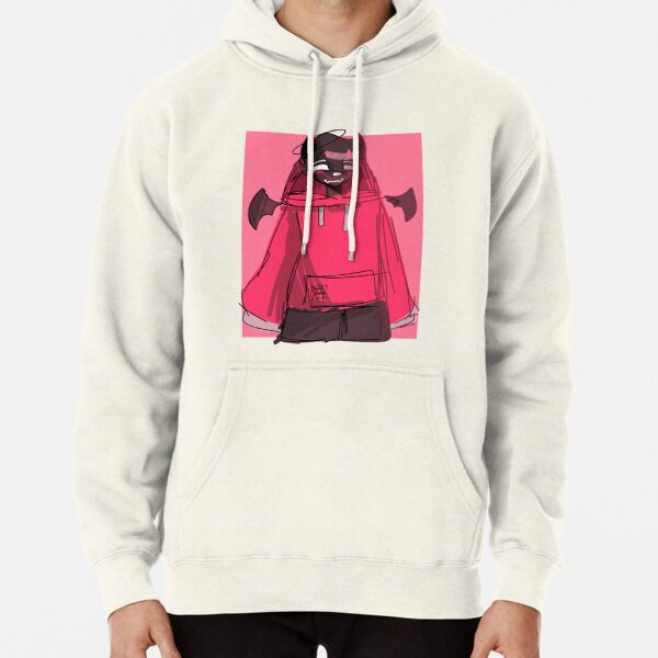 Badboyhalo Pink Pullover Hoodie RB0206 product Offical Technoblade Merch