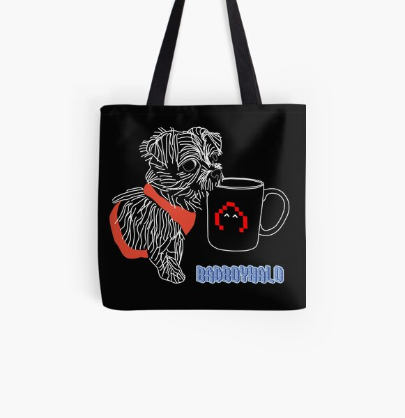 BadBoyHalo dog All Over Print Tote Bag RB0206 product Offical Technoblade Merch