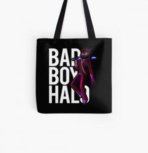 Badboyhalo Merch Badboyhalo Bad Boy Halo Character All Over Print Tote Bag RB0206 product Offical Technoblade Merch