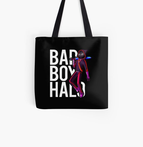 Badboyhalo Merch Badboyhalo Bad Boy Halo Character Gifts For Fans, For Men and Women, Gift Christmas Day All Over Print Tote Bag RB0206 product Offical Technoblade Merch