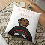 BadBoyHalo muffin time merch Floor Pillow RB0206 product Offical Technoblade Merch