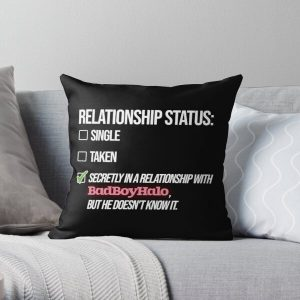 Relationship with BadBoyHalo Throw Pillow RB0206 product Offical Technoblade Merch