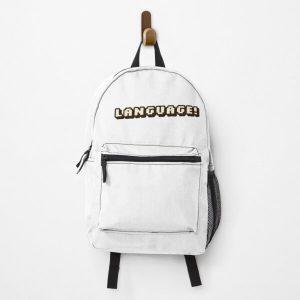 """Language!""-BadBoyHalo Backpack RB0206 product Offical Technoblade Merch"