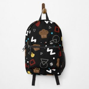 BadBoyHalo Inspired Bowling Alley Carpet Design Backpack RB0206 product Offical Technoblade Merch