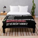 Relationship with BadBoyHalo Throw Blanket RB0206 product Offical Technoblade Merch
