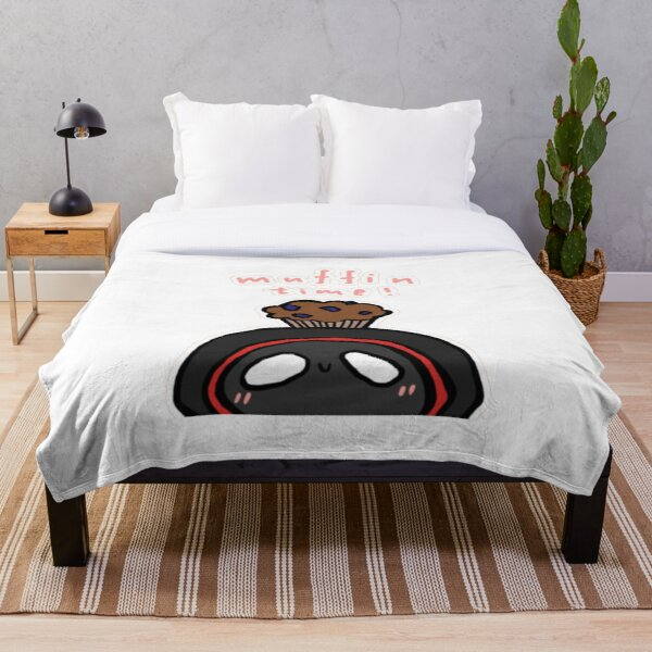 BadBoyHalo muffin time merch Throw Blanket RB0206 product Offical Technoblade Merch