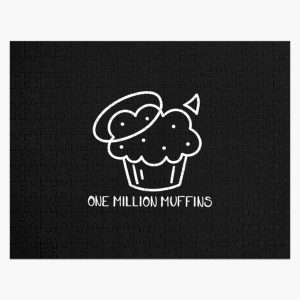 Badboyhalo 1 Million Muffins Gifts For Fans, For Men and Women, Gift Christmas Day Jigsaw Puzzle RB0206 product Offical Technoblade Merch