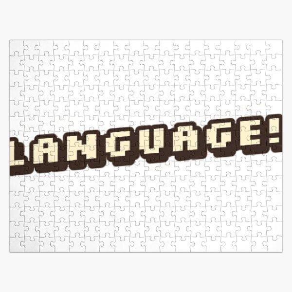 """Language!""-BadBoyHalo Jigsaw Puzzle RB0206 product Offical Technoblade Merch"