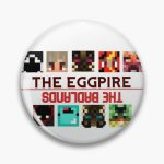 The Eggpire/ The Badlands Merch Pin RB0206 product Offical Technoblade Merch