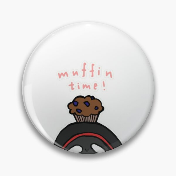 BadBoyHalo muffin time merch Pin RB0206 product Offical Technoblade Merch