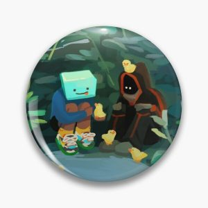 Skeppy and BadBoyHalo at the Pond Pin RB0206 product Offical Technoblade Merch
